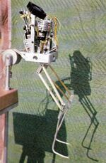 Truster suit miniature armature and servo motors