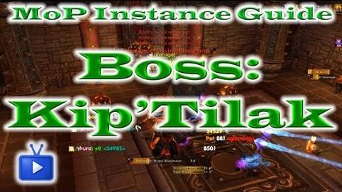 Mists of Pandaria Saboteur Kip'tilak (Gate of the Setting Sun Heroic) ft. TTB-0