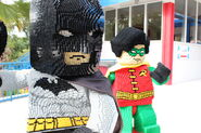 Batman with Robin
