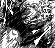 Toriko hitting Starjun with 50 Ren Kugi Punch again