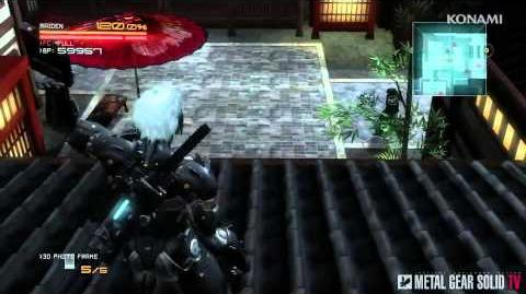 Metal Gear Rising Revengeance - AR Mode Trailer MetalGearSolidTV