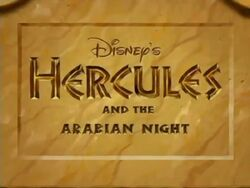 Hercules and the Arabian Night
