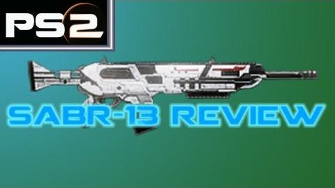 Planetside 2 - Sabr-13 Weapon Review