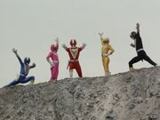 Fiveman (Super Sentai World)
