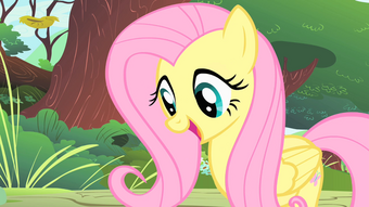 1000px-Fluttershy looks at the CMC S1E23-1-