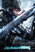 Metal gear rising cover maxi poster raw