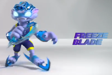 skylanders coloring pages freeze blade - photo#33
