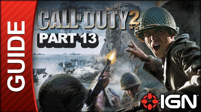 Call of Duty 2 Walkthrough Part 13 - 88 Ridge - British Campaign