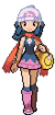 Dawn&#39;s intro sprite from Diamond and Pearl