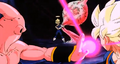 Evil Kid Buu! - Vegeta distracts Buu