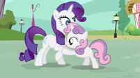 Sweetie Belle umm S3E11