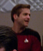 Male Starfleet concert attendee, 2366