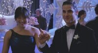 Tina and Blaine Image Sadie Hawkins