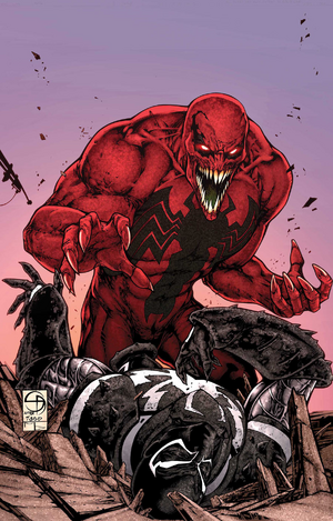 Toxin's (Eddie Brock) new appearance
