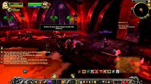 Pandaren introduction into the Horde, MoP Beta with Nobbel HD