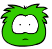 Scared Green Puffle PSA MISSION 2