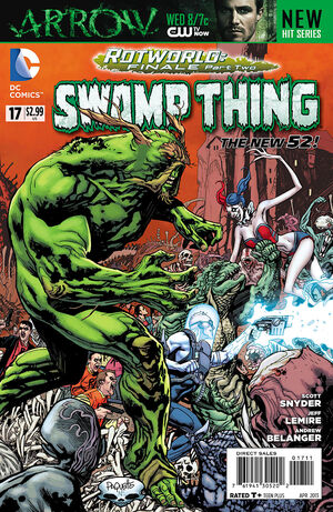 Cover for Swamp Thing #17