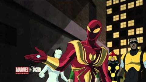 """Flight of the Iron Spider"" Clip - The Ultimate Spider-Man Marvel Universe"