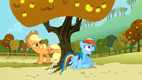 Rainbow Dash gasping S1E13
