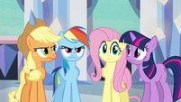 Main ponies have no idea what Pinkie&#39;s doing S03E12