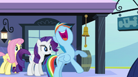 Rainbow Dash excited &quot;that&#39;ll rock!&quot; S03E12