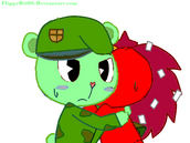 Flippy x flaky hug new by flippyhtf06-d5ul7j3