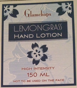 Glamchops Lemongrass Hand Lotion