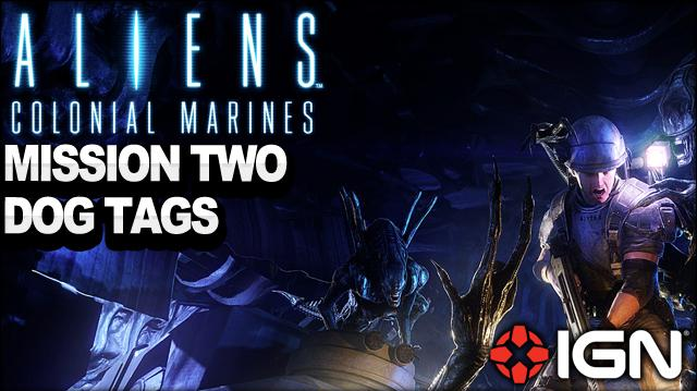 Aliens Colonial Marines - Mission 2 Dog Tag - Battle for Sulaco - Walkthrough
