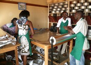 SCA Uganda production facility, 2-12-13