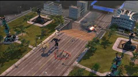 Command & Conquer 3 Tiberium Wars GDI Strategy Video