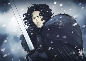 Jon snow by KarlaDiazC