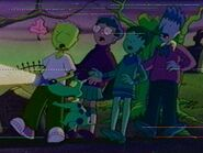 Doug and friends as Scooby Doo Gang