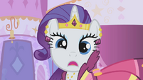 Rarity is surprised by Hoity Toity's request S1E14