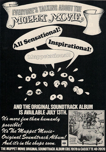 Muppetmoviesoundtrackad