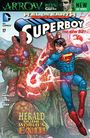 Cover for Superboy #17