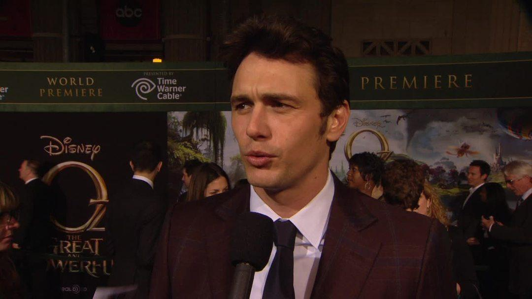 Oz the Great and Powerful - James Franco Interview