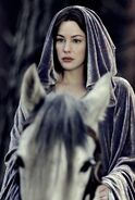 Arwen and Asfaloth