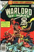 John Carter Warlord of Mars Annual Vol 1 1