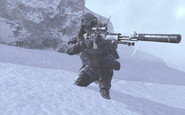Soap providing overwatch Cliffhanger MW2