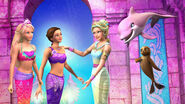 Barbie in A Mermaid Tale 2 Still 5 Merliah Summers Kylie Morgan Calissa Snouts Zuma