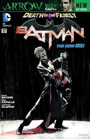 Cubierta para el Batman # 17