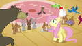 Fluttershy calms the animals down S3E13.png