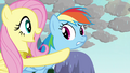 "Fluttershy singing ""just give it a chance"" S03E13.png"