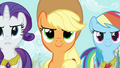 Applejack confident face S03E13.png
