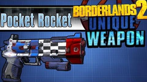 Borderlands 2 - Pocket Rocket - Unique Weapon