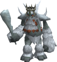 Ice troll king