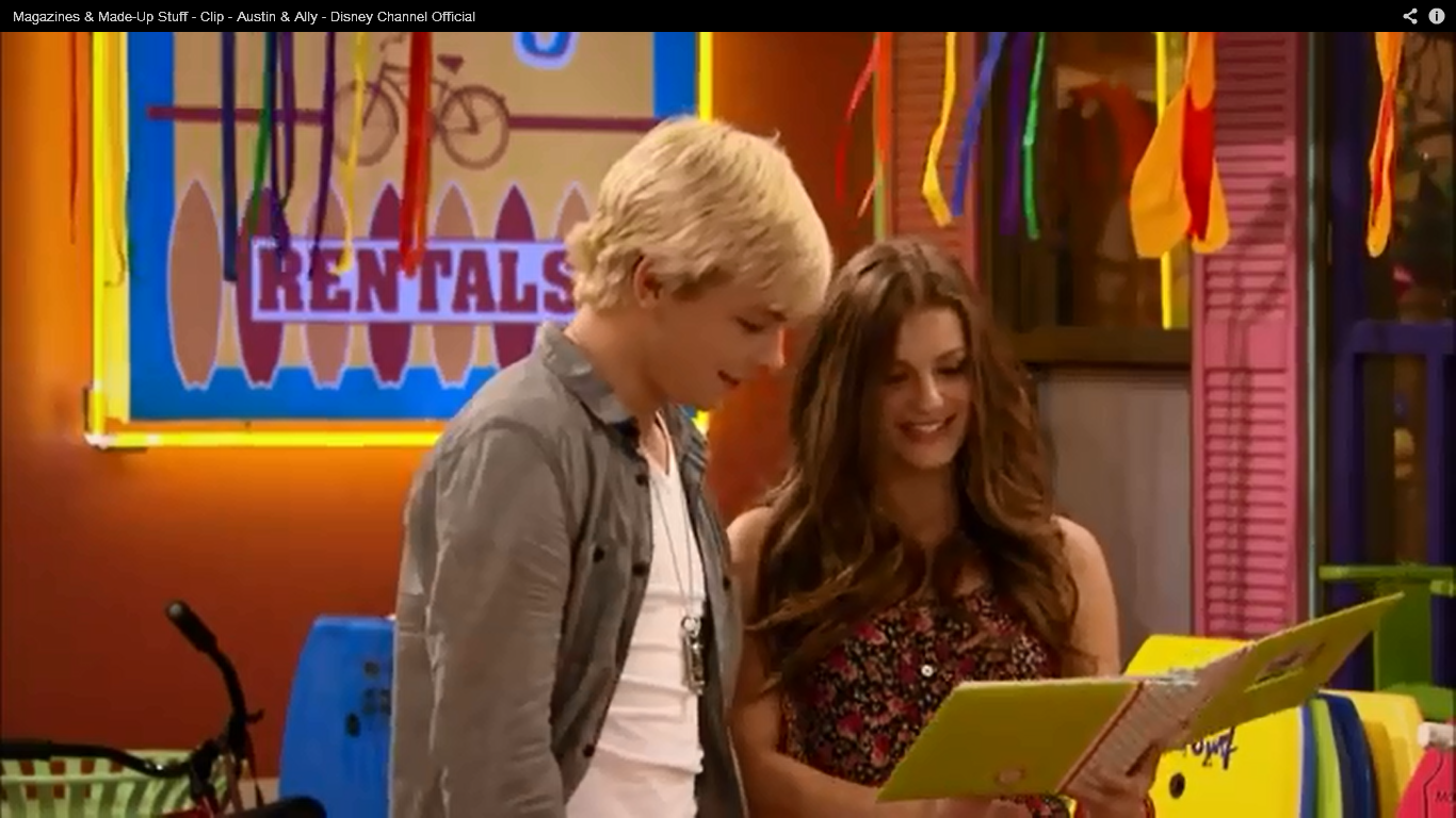Who is austin from austin and ally dating