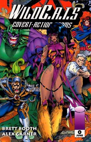 Cover for WildC.A.T.s #0