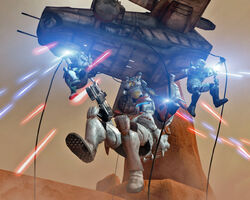 DeltaSquad on Geonosis
