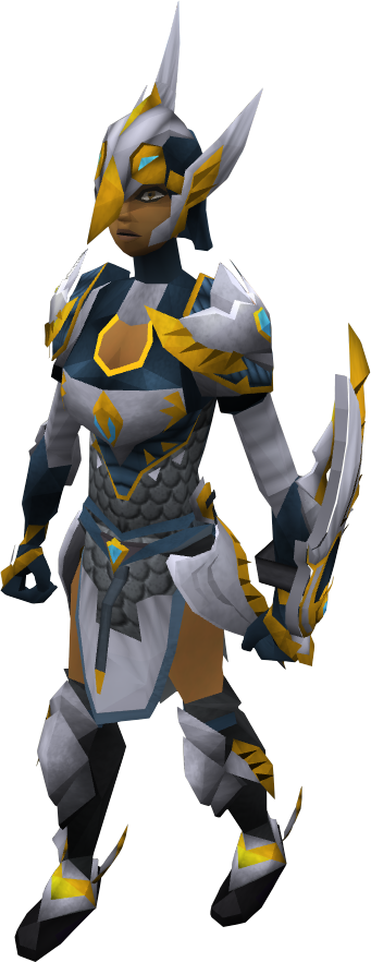Full Armadyl equipped female